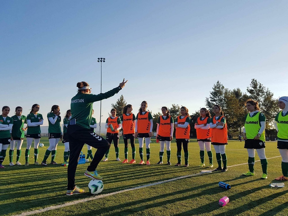 Global Rescue helps Afghanistan Women's Football Team put its best foot forward